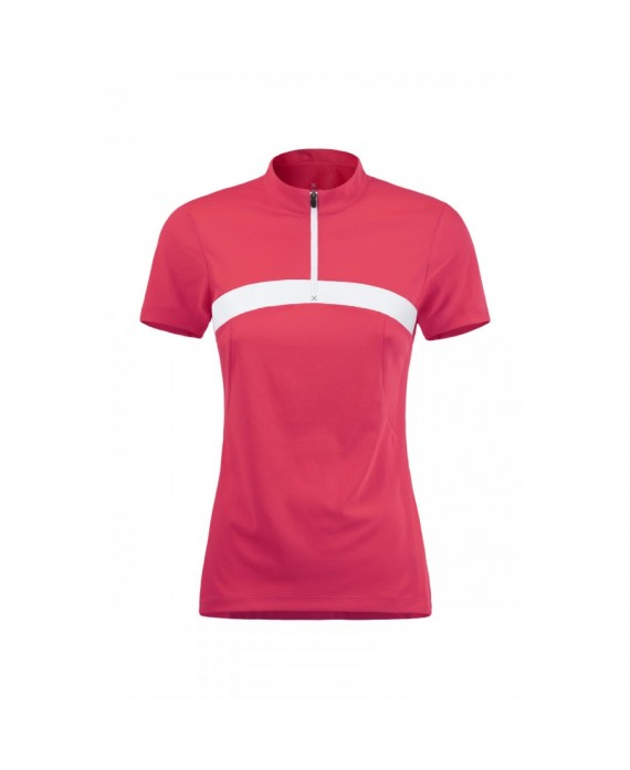 OUTDOOR TIME ZIP T-SHIRT WOMAN - MONTURA