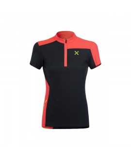 SELCE ZIP T-SHIRT WOMAN MONTURA