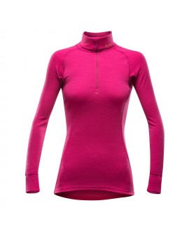 DUO ACTIVE WOMAN ZIP NECK DEVOLD